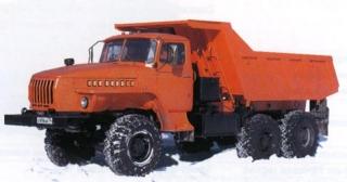 Автомобиль Урал  375,4320,5557,43206