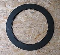 Диск 16121 стальной бортового фрикциона трактора ЧТЗ Т 130, Т170