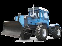 Колесный трактор с бульдозерным отвалом на базе  Х Т З -17221-06