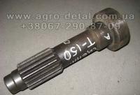 Вал главного сцепления  150.21.214-3 гусеничного трактора ХТЗ Т 150