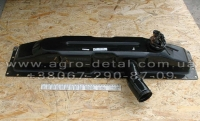Бак водяного  радиатора верхний 130у.13.030-1 трактора Т-130,Т -170 ЧТЗ (ЛАТУНЬ) вес 5,00 кг