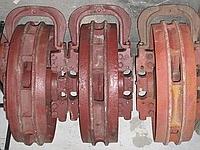 Колесо натяжное 50-21-306СП правое в сборе ленивец ходовой части гусеничного бульдозера Т-130,Т-170,Б-10М