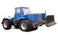 Поворотный отвал колесного трактора Т-150, Х Т З-150К-09 с бульдозерным оборудованием