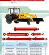 Гидроцилиндр подъема и опускания 16ГЦ.80/50.ПП.000-250 автогрейдера легкового класса ГС 10.06 и ГС 10.05