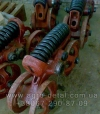 Каретка подвески 54.32.002-1А передняя левая трактора Т 74 ХТЗ