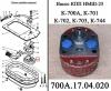 Насос НМШ-25А масляный 700А.17.04.000-2 коробки передач трактора К-700,К-701