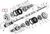 Шестерня 2765020-1701080 вала ведущего Z=39 К П П трактора Кировец К-702