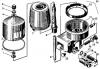 Центрифуга масляная 95.000СП центробежный масляный фильтр двигателя Д-160, Д-180 бульдозера Т-130,Т-170,Б-10М