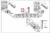 Скоба прицепная 150.35.103 прицепного устройства трактора Т-150 ХТЗ