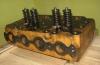 Головка блока цилиндров двигателя КДМ-100,Д-108 трактора,бульдозера  Т-100,Т-100 М