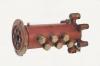 Муфта поворотная ПЭА 01.38.01.000 грейферного гидравлического погрузчика-экскаватора ПЭА-1А «Карпатец-1560С»